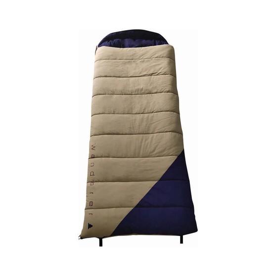 Wanderer Grand Macquarie Cotton Hooded -2.7C Sleeping Bag, , bcf_hi-res