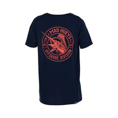 The Mad Hueys Catch of the Day Short Sleeve Tee Navy 8, Navy, bcf_hi-res
