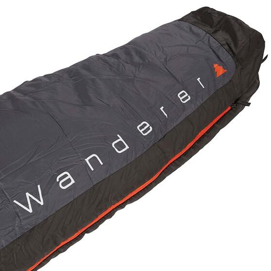 Wanderer LiteFlame Hooded Sleeping Bag, , bcf_hi-res