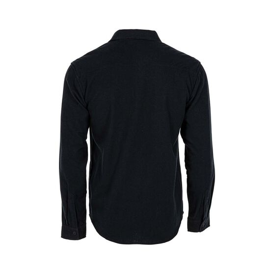OUTRAK Men's Yarn Dye Flannel Shirt Navy XL, Navy, bcf_hi-res