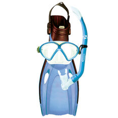 Mirage Junior Squirt Snorkelling Set Blue, Blue, bcf_hi-res