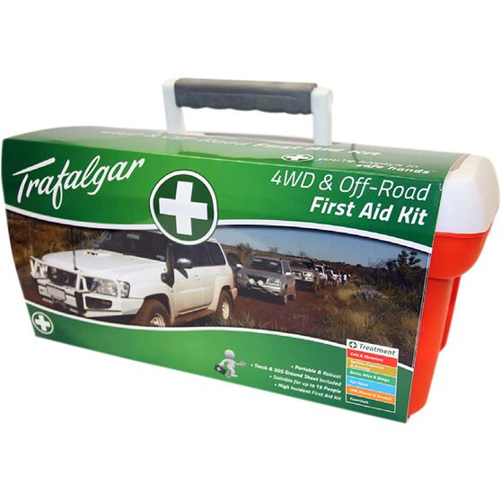 Trafalgar 4x4 and Offroad First Aid Kit - 127 Pieces, , bcf_hi-res