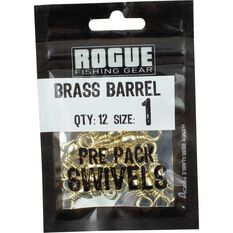 Rogue Brass Barrel Swivel 12 Pack, , bcf_hi-res