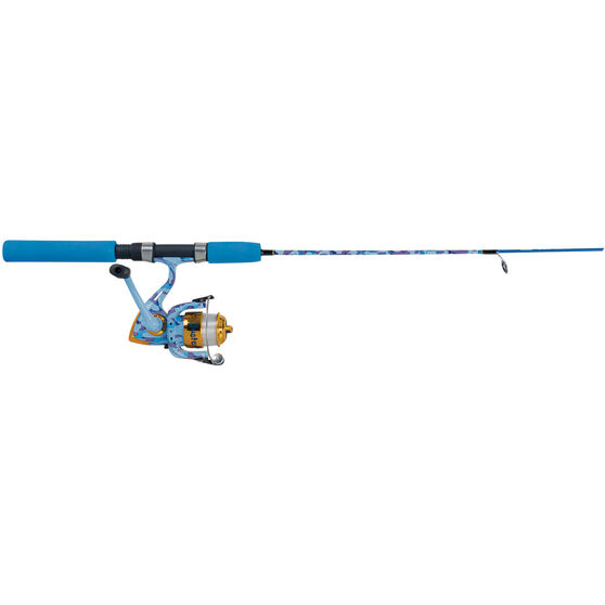 Rogue Kids Flash Spinning Junior Combo Blue 3ft 6in 2pc, Blue, bcf_hi-res
