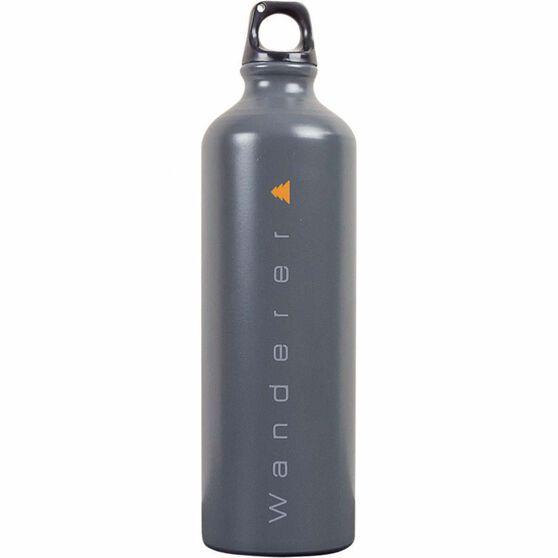 Wanderer Aluminium Drink Bottle 1L, , bcf_hi-res