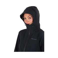 Macpac Women's Dispatch Long Jacket, Black, bcf_hi-res
