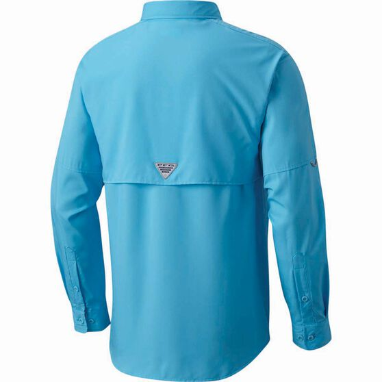 Columbia Men's Blood and Guts III Long Sleeve Shirt, Riptide, bcf_hi-res