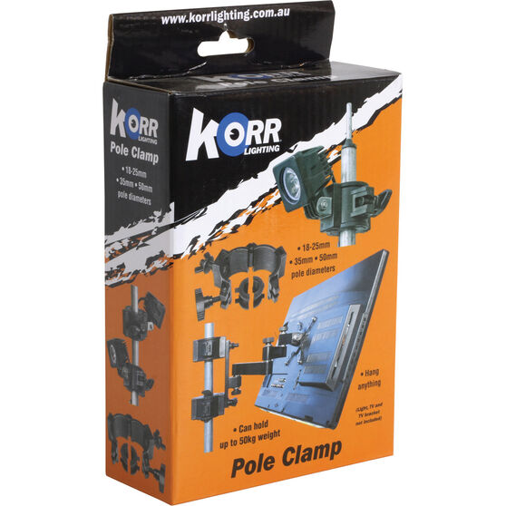 Korr LED Plastic Pole Clamp, , bcf_hi-res