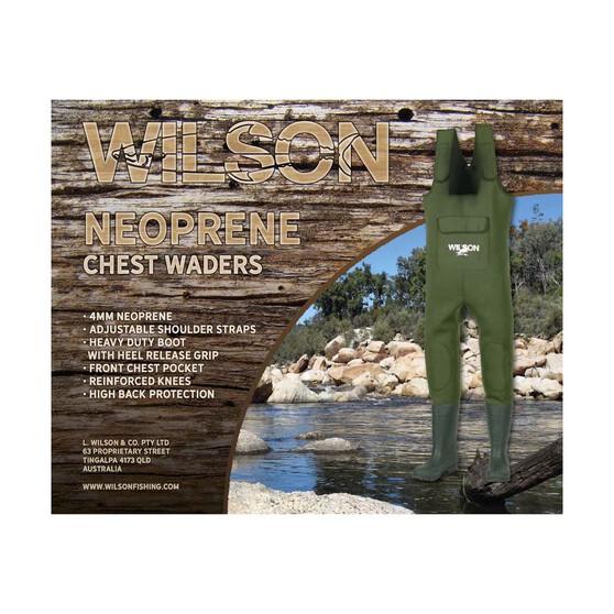 Wilson Neoprene Chest Waders 4mm, , bcf_hi-res