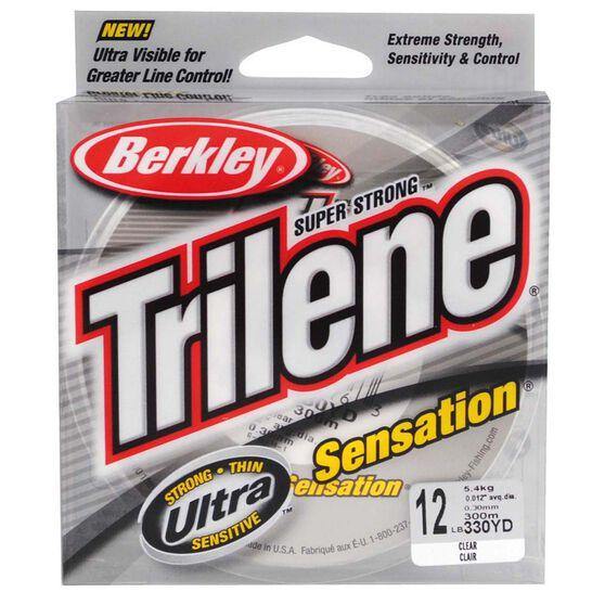 Berkley Trilene Sensation Mono Line 300m Clear 300m 12lb, , bcf_hi-res
