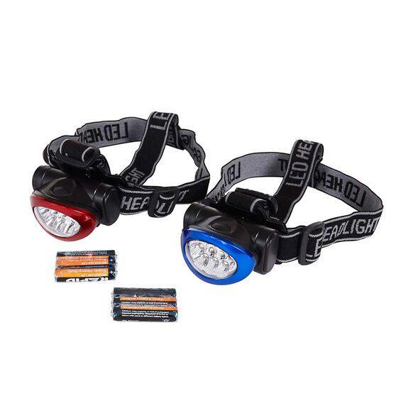 10 LED Headlight Twin Pack, , bcf_hi-res