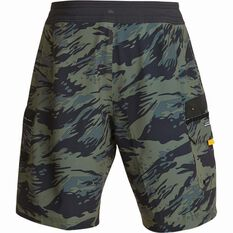 Quiksilver Men's Angler 20 Beach Shorts Beetle 32 Men's, Beetle, bcf_hi-res