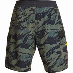 Quiksilver Men's Angler 20 Beach Shorts Beetle 32 Men's, Beetle, bcf_hi-res