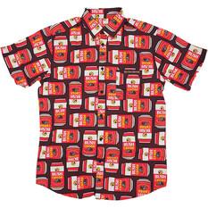 Bush Chook Men's Canned Chook Button-Up Shirt Print S, Print, bcf_hi-res