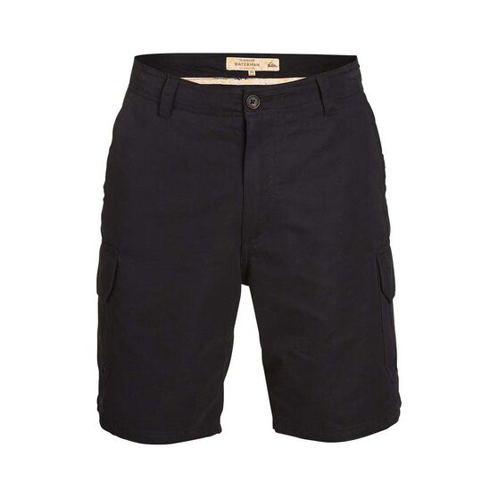 Quiksilver Waterman Men's Maldive 9 Shorts, Black, bcf_hi-res