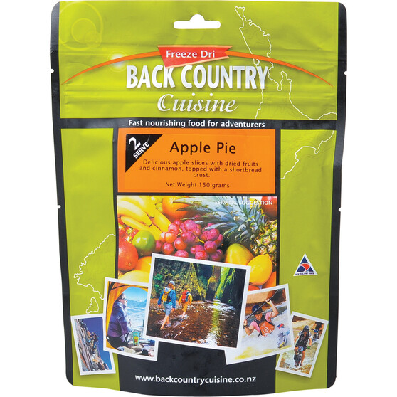 Back Country Cuisine Freeze Dried Apple Pie, , bcf_hi-res