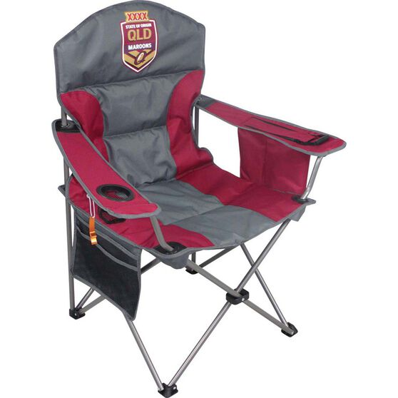 NRL State of Origin QLD Camp Chair, , bcf_hi-res