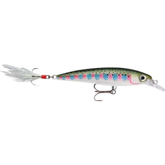 Rapala X-Rap Freshwater Hard Body Lure 8cm Rainbow Trout 8cm, Rainbow Trout, bcf_hi-res