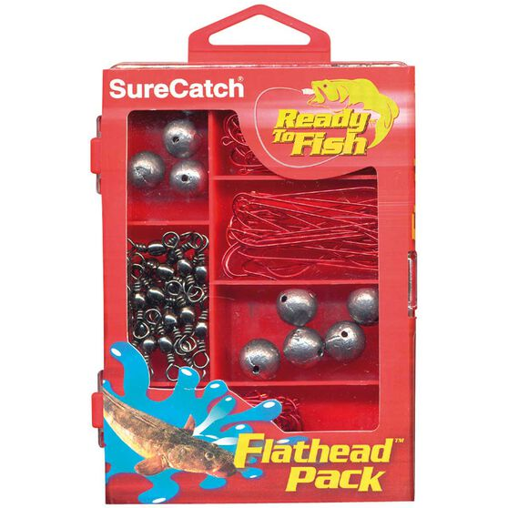 Surecatch Tackle Kit - Flathead Pack, , bcf_hi-res