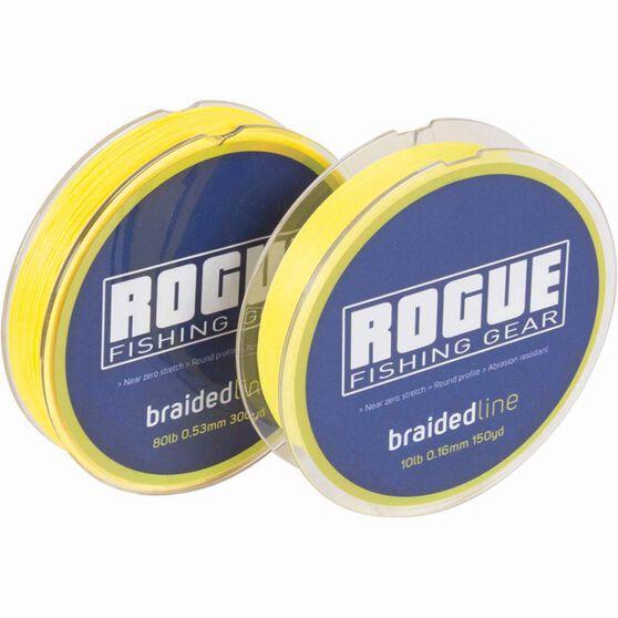 Rogue Braid Line 300yds Yellow, , bcf_hi-res
