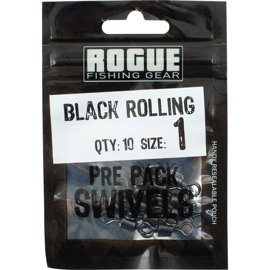 Rogue Black Rolling Swivel 10 Pack, , bcf_hi-res