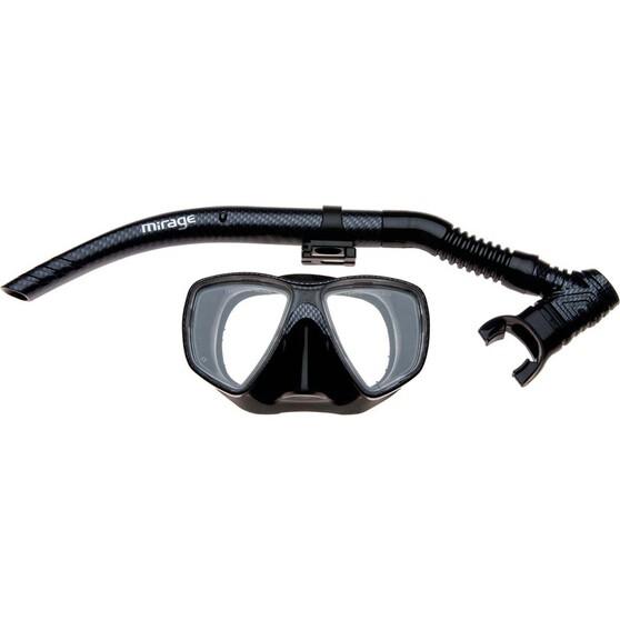 Mirage Carbon Snorkelling Set, , bcf_hi-res