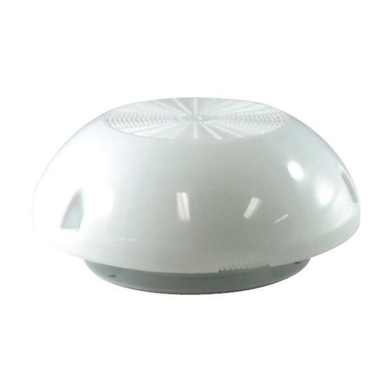 BLA 203mm White Plastic Dorade Dome Vent, , bcf_hi-res