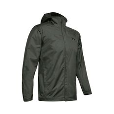 Under Armour Men's Overlook Jacket, Baroque Green / Black, bcf_hi-res