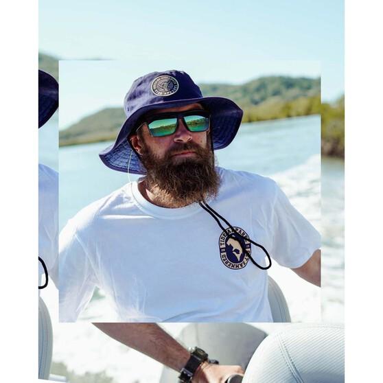 Tide Apparel Mens Print Booney Navy OSFM, Navy, bcf_hi-res