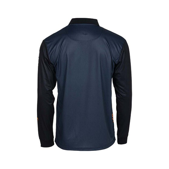 Savage Men's Salt Sublimated Polo, Dark Grey, bcf_hi-res