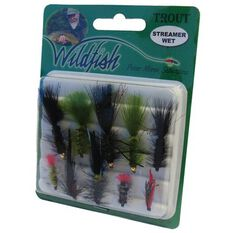 Wildfish Streamer Wet Flies 10 Pack, , bcf_hi-res