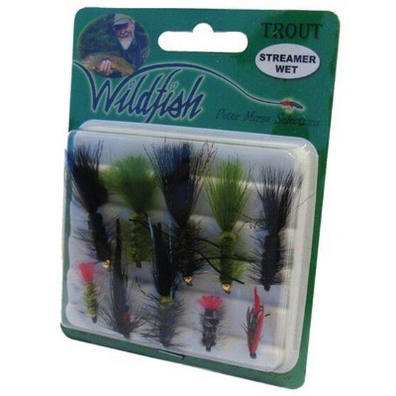 Wildfish Streamer Wet Flies 10 Pack, , bcf_hi-res