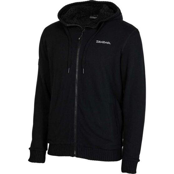 Daiwa Men's Sherpa Jacket, Black, bcf_hi-res