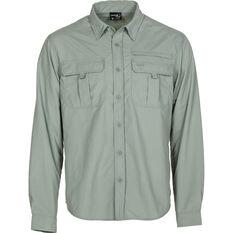 Explore 360 Men's Vented Long Sleeve Fishing Shirt Iron M, Iron, bcf_hi-res