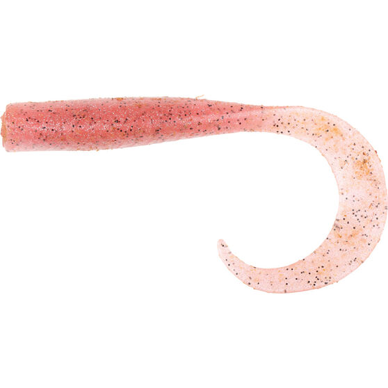 Savage Curltail Soft Plastic Lure 7cm Pink UV, Pink UV, bcf_hi-res