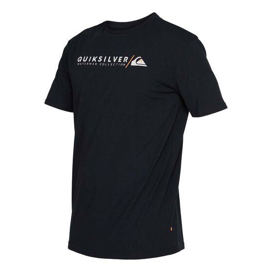 Quiksilver Waterman Men's Troopy Short Sleeve Tee, Black, bcf_hi-res