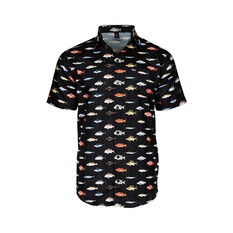 Tide Apparel Men's Holiday Shirt Black S, Black, bcf_hi-res