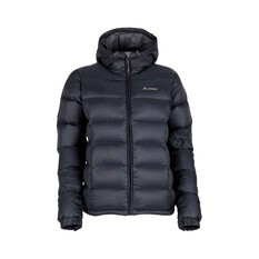 Macpac Womens Halo Hooded Jacket Black 8, Black, bcf_hi-res