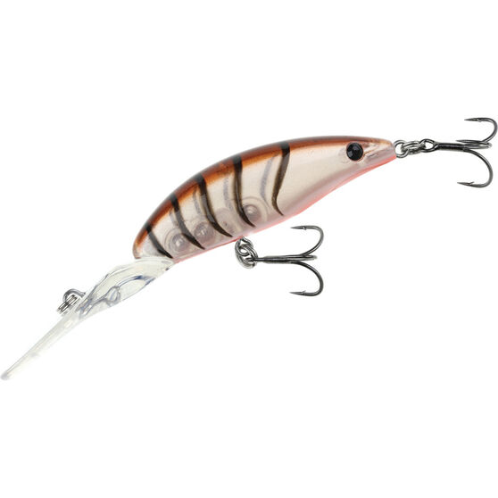 Savage 3D Shrimp Extra Deep Runner Hard Body Lure 5cm Brown Shrimp 5cm 4.8g, Brown Shrimp, bcf_hi-res
