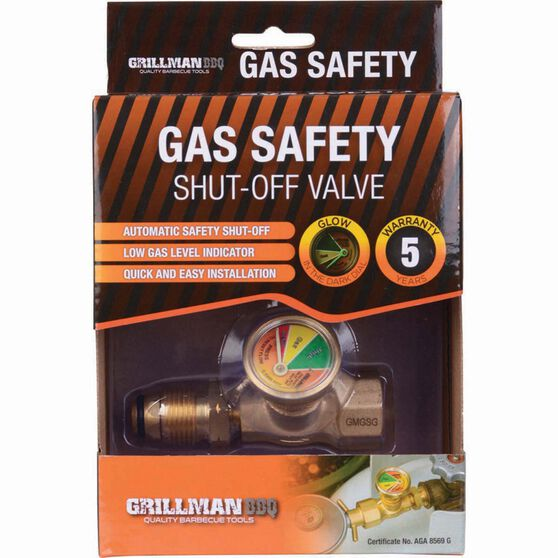 Grillman LPG Gas POL Safety Valve, , bcf_hi-res