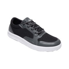 Quiksilver Waterman Men's Amphibian Plus II Shoes Black / Grey 6, Black / Grey, bcf_hi-res