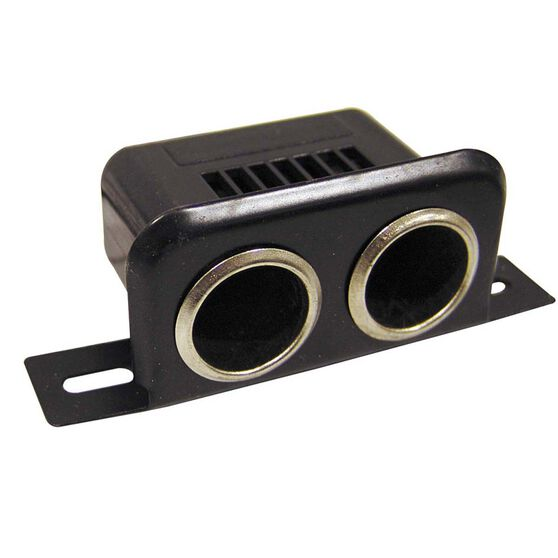 Battery Link Dual Cigarette Lighter Socket, , bcf_hi-res