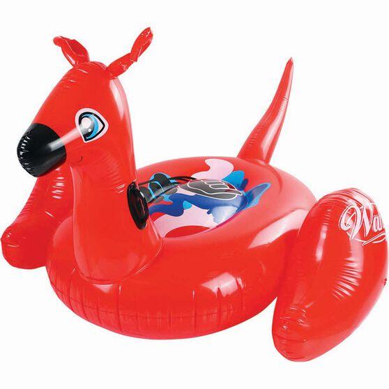 Inflatable Kangaroo Rider, , bcf_hi-res
