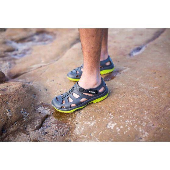 Shimano Men's Evair Aqua Shoes, Grey / Green, bcf_hi-res