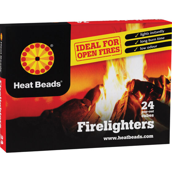 Heat Beads Natural Fire Lighters, , bcf_hi-res
