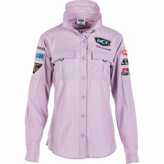 BCF Women's Long Sleeve Fishing Shirt Orchid / Purple 14, Orchid / Purple, bcf_hi-res
