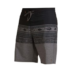 Quiksilver Waterman Men's Angler Triblock 20 Boardshorts Black 30, Black, bcf_hi-res
