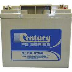 Century PS 12180 Rechargeable Battery 12V 18AH, , bcf_hi-res