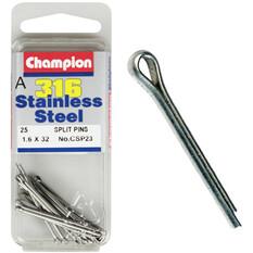 Champion Split Pins - 1.6mm X 32mm, , bcf_hi-res