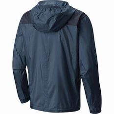 Men's Flashback Windbreaker Jacket Whale / Collegiate Navy S, Whale / Collegiate Navy, bcf_hi-res